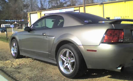 Not *my* Mustang, but this one looks lust like it