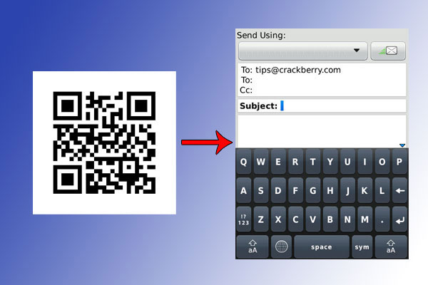 QR example email