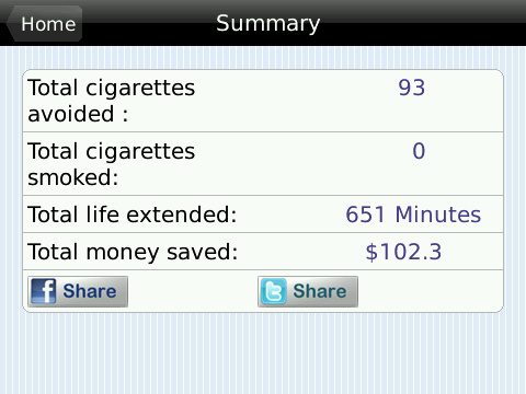 Quit Smoking Summary