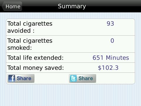 Quit Smoking Summary