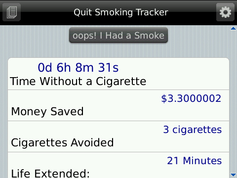 Quit Smoking Update