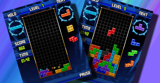 Tetris for BlackBerry
