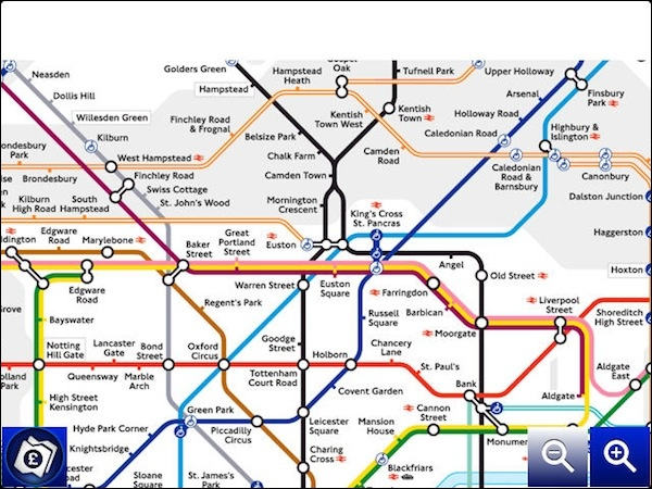 Coming to london get around the city with tube map for blackberry map gumiabroncs Images