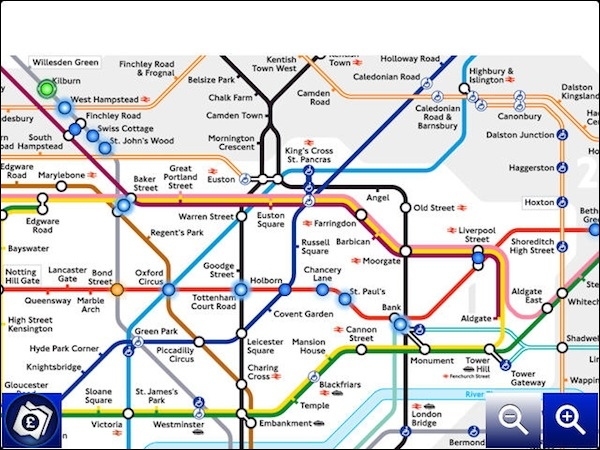 Coming to london get around the city with tube map for blackberry p4 gumiabroncs Images