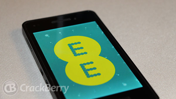 Pre-register to find out when BlackBerry 10 comes out on EE and get a chance to win one