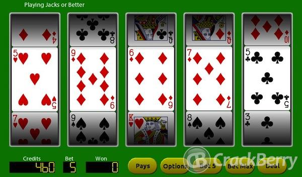 Poker Reels for PlayBook