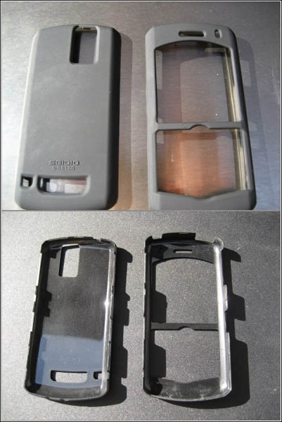 Two Pieces Snap Together To Assemble Case
