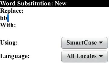 AutoText Example