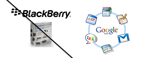 BES 4.1 and Google Apps