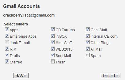 Backupify Gmail
