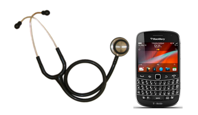 BlackBerry for medical world