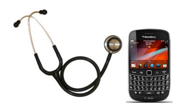 BlackBerry for medical world