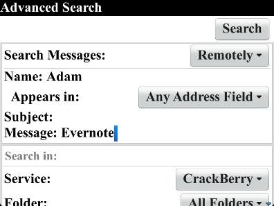 Remote Search Setup