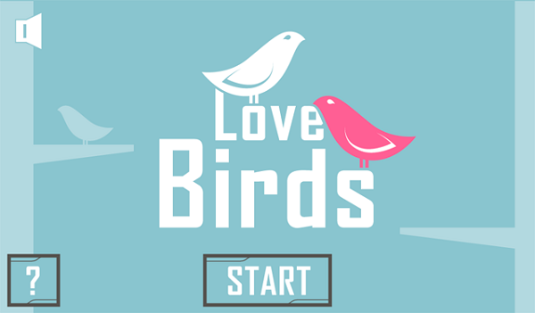 Love Birds Home Screen