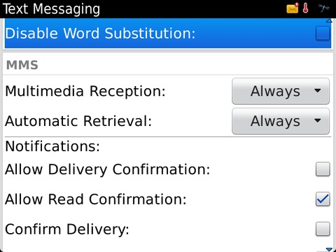 Disable Word Subsitution