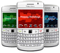 Holiday BlackBerry