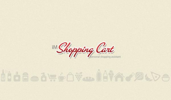 Main Screen iM Shopping Cart