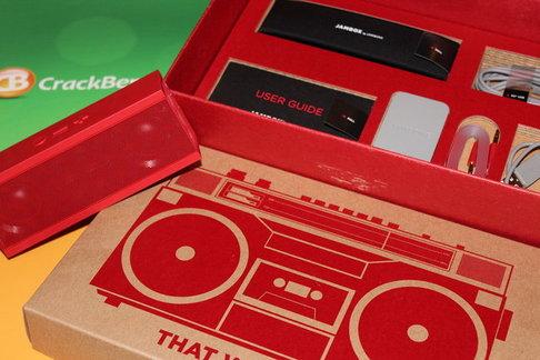 Jambox Packaging