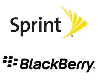 Sprint BlackBerry logo