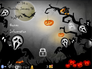 Horror Halloween Theme