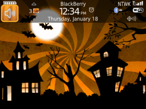 Halloween Night Premium Theme