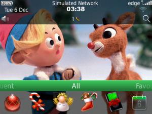Animated Christmas Rudolph