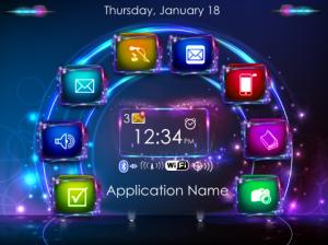 Neon Sparkle