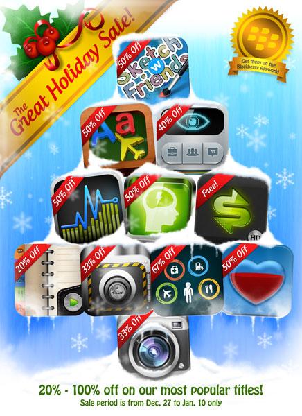 PlayBook App Sale Banner