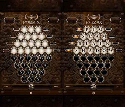 Pyramix Word Generator