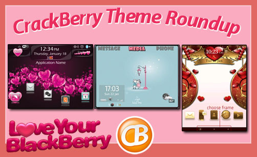 BlackBerry theme roundup Valentine's Edition 01-31-12