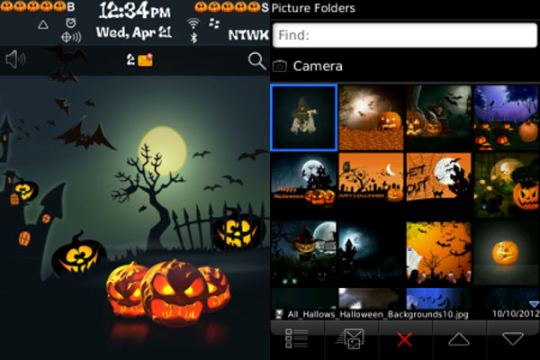 All Hallows Halloween Theme