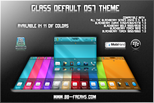 Glass Default OS7 Theme BB Freaks