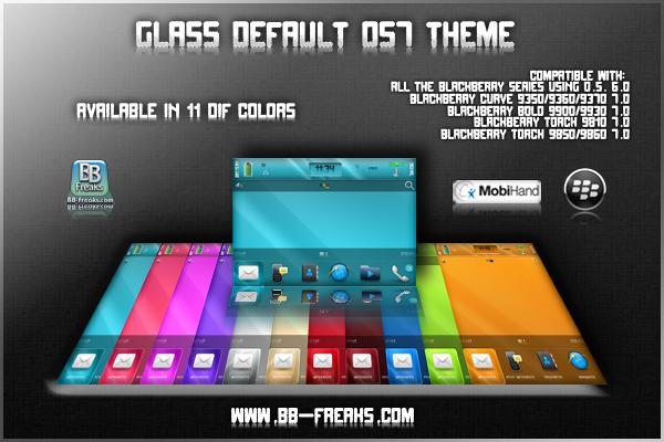 Glass Default OS7 Theme BB Freaks