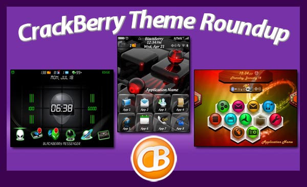BlackBerry theme roundup 5-1-12