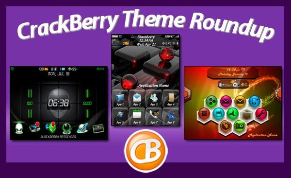 BlackBerry theme roundup 5-1-12