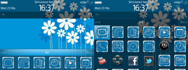BlueFlower Theme