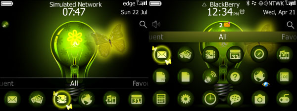 Butterfly Neon Theme