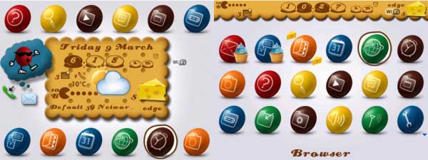 Chocolate Candies Theme