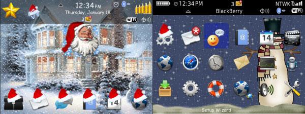 Christmas Snow Theme