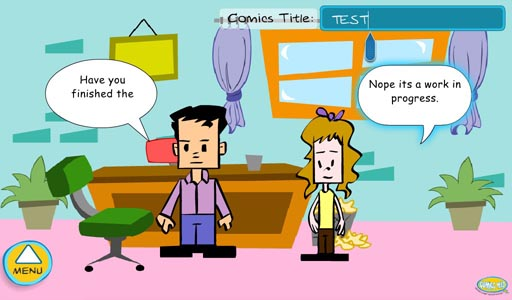 Create your own comic strip with Comics Creator for the BlackBerry ...