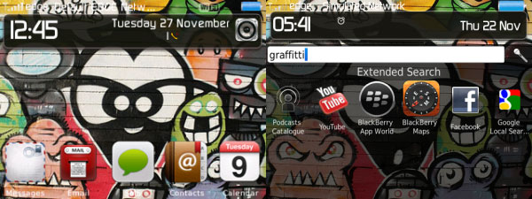 Cool Graffitti Theme