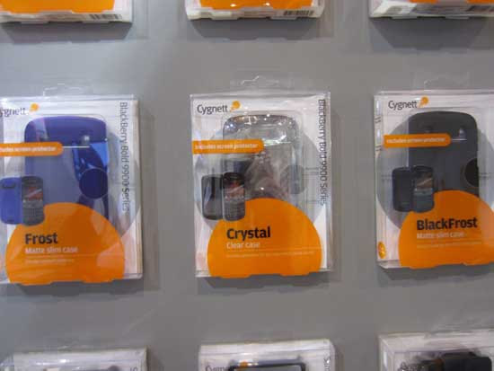 Cygnett BlackBerry Bold 9900 series cases