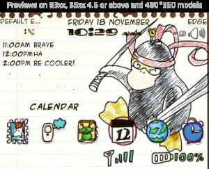 Doodle Duck Ninja