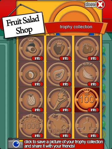 Fruit Salad Trophy Collection