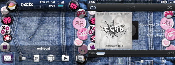 Girly Jeans Buttons
