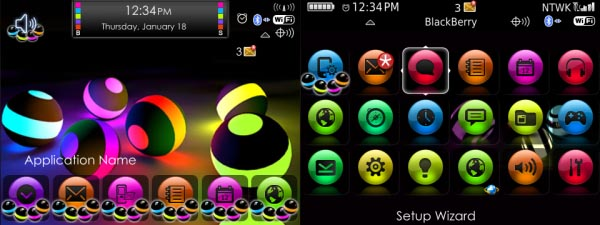 Glowing Balls Theme