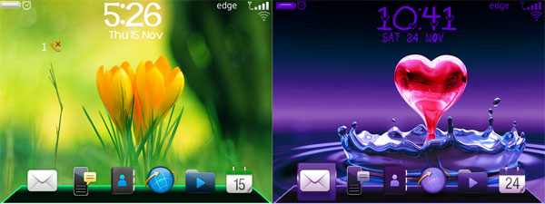 Green Dock Pro & Purple Dock