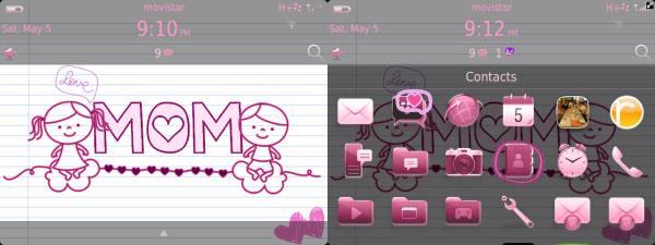 Happy Mom's Day Theme