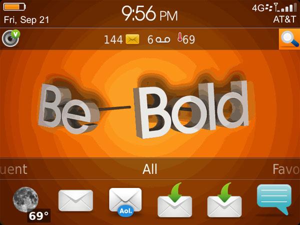 Kahel - Be Bold