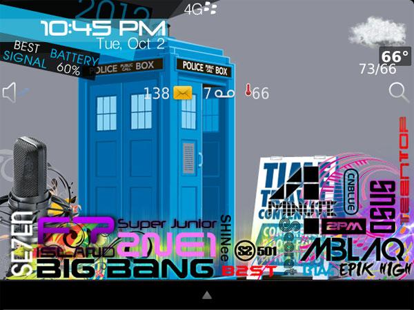 cara  tema kpop windows 7